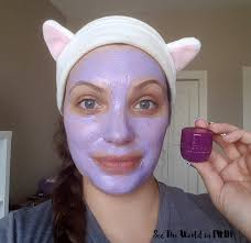 Tatcha Skin Care Reviews Mask Wednesday New Tatcha Violet C Radiance Mask Review See