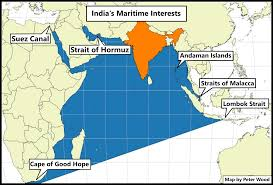 Cape Of Good Hope On World Map by Sino Indian Competition In The Maritime Domain Jamestown