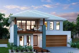 split level homes downward sloping block simple split level home