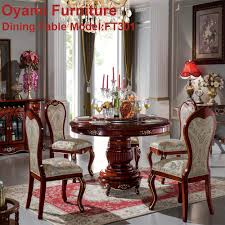 Italian Style Dining Room Furniture Classic Luxury Wooden Dining Room Set Classic Luxury Wooden