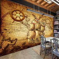 compare prices on wood painting world map online shopping buy low retro nostalgia poster 3d room wallpaper custom mural non woven wall paper decor navigation sailing