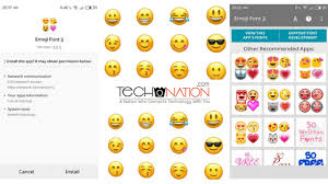 emojis android how to get iphone emojis for android phone no root root 2018