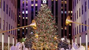 Rockefeller Tree Rockefeller Tree Lighting Attracts Thousands