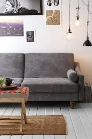 furniture stunning grey modern sleeper sofa combined with bright