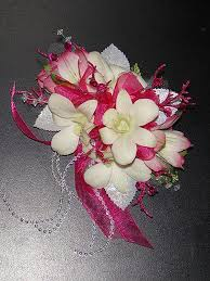 pink corsages for prom glitterati style a boston area prom pageant superstore new