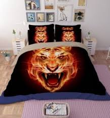 Tiger Comforter Set Men U0027s Bedding Sets Archives Beddings Land