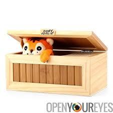 coffre a jouet bureau bureau inutile coffre à jouets 10 modes pin et boîte de bambou