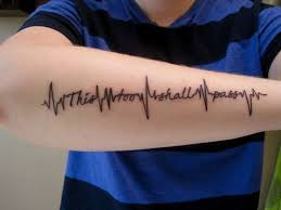 heartbeat tattoo quotes creativefan