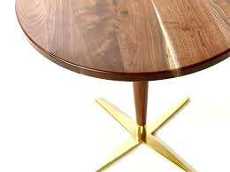 mid century bistro table tables mid century modern pedestal bistro table handmade from modern