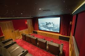 Home Cinema Design Uk Home Cinema With Bespoke Fortress Seating Finite Solutions