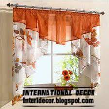 Ideas For Kitchen Window Curtains Best 25 Orange Kitchen Curtains Ideas On Pinterest Diy Orange