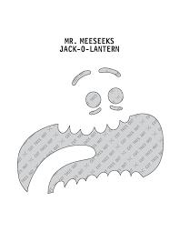 Meme Pumpkin Stencil - rick and morty pumpkin stencils album on imgur