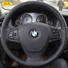 volante bmw x3 ponsny coche cubiertas para volantes para bmw x3 2013x5 2014