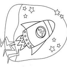 kids rocket ship drawing coloring kids rocket ship drawing