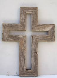 wooden wall crosses barnwood cross room for all in the stable home decoration