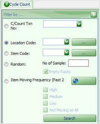 warehouse management system to control inventory chronos estockcard