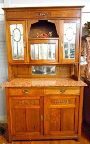 Marble Top Buffet by Antique Arts U0026 Crafts Mission Oak Marble Top Buffet Sideboard 80