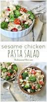 sesame chicken pasta salad the seasoned mom