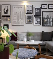 dining room framed art mixed photo wall with illustrations photographs and framed