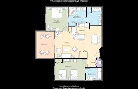 Disney Magic Floor Plan by Club Wyndham Wyndham Bonnet Creek Resort