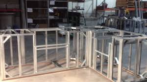 Outdoor Kitchen Cabinet Kits Outdoor Kitchen Frame Kit Video And Photos Madlonsbigbear Com