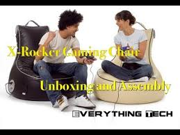 Extreme Rocker Gaming Chair X Rocker Gaming Chair Unboxing And Assembly Youtube