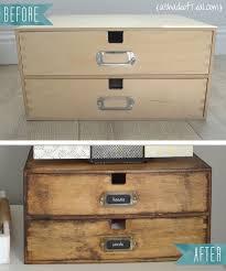 apothecary drawers ikea ikea update makis wood organizer makeover ikea makeover ikea