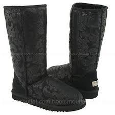s gissella ugg boots ugg s patent paisley black 131 00 ugg