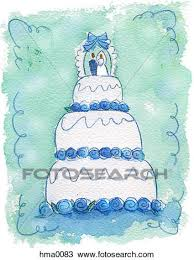 drawing of wedding cake hma0083 search clipart illustration
