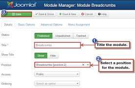 breadcrumbs module joomla 3 0