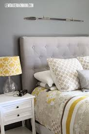 best 25 grey tufted headboard ideas on pinterest cozy bedroom