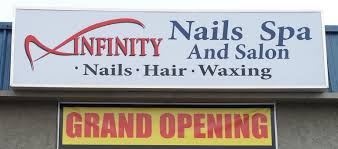 infinity nails spa pedicure shellac manicure fullset