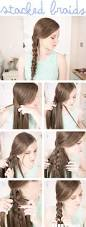 171 best beautiful braids images on pinterest hairstyles braids