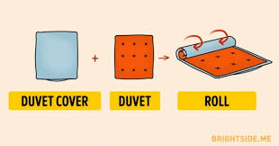 Who Invented The Duvet A Surprisingly Easy Way To Put On A Duvet Cover