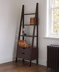 Corner Ladder Bookcase Diy Ladder Bookcase Home Designs Insight Ladder Bookcase