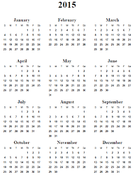 10 best images of free 2015 yearly calendar template 2015 yearly