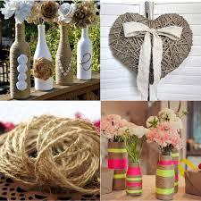 rustic wedding decorations for sale 10m handmade hemp rope jute twine string vintage rustic wedding