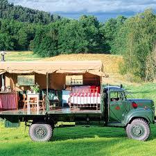 chambre d hote insolite en ecosse une chambre d hôtes dans un camion
