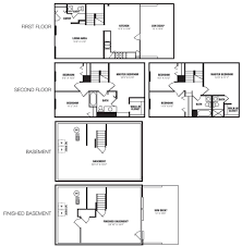 townhome floor plans eland downe townhomes boyd wilson