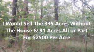land for sale by owner in missouri with owner financing 421 acres