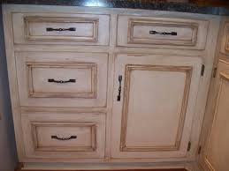 Paint Glazed Kitchen Cabinets With White And Brown  Decor Trends - Glazed kitchen cabinets