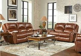Leather Living Room Furniture Clearance Leather Living Room Collection Creek Power Reclining Set Leather