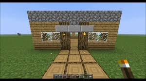 Easy To Make Home Decorations How To Make A Fast And Easy House In Minecraft Youtube