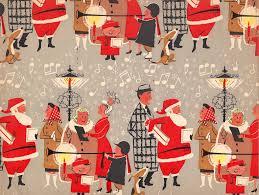 vintage christmas gift wrap u2026 pinteres u2026