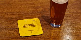 beverage coasters for st patrick u0027s day this agency made metal bar coasters from