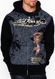 mens death before dishonor and tiger hoody ed hardy outlet online