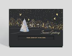 business christmas cards city lights card 302473 business christmas cards