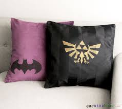 diy geek home decor geek pillows our nerd home