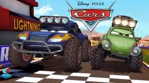 lightning mcqueen monster truck videos disney cars fast as lightning mcqueen unlock rs500 off road racer