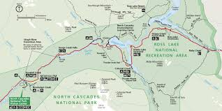 Washington Park Map by North Cascades Maps Npmaps Com Just Free Maps Period